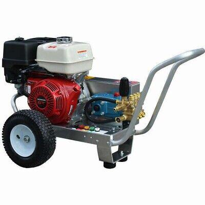 Gas Pressure Washer - Cold Water - 4000 Psi - 13 Hp Honda Engine - Belt Drive