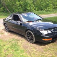 98 Acura CL with safety and etest