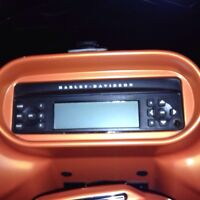 Harley Davidson stock Harmon Kardon Head unit and Boom speakers