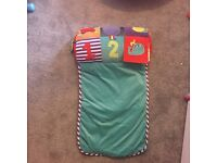 Baby tummy time mat.