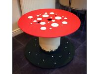 Cable reel table (Large) suitable outdoors