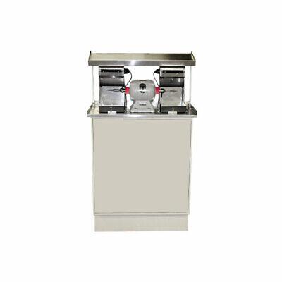 Handler 60fc-ts Regular Polishing Unit Dental Lab With 26 Red Wing Lathe