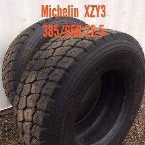 Big rig steer tires/rims  Prince George British Columbia image 2