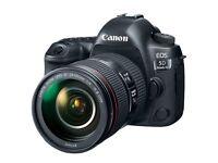 Canon EOS 5D mk4 with lens