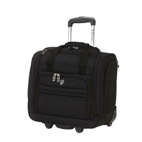Travelers Club 16 Rolling Underseat Carry-on luggage restric