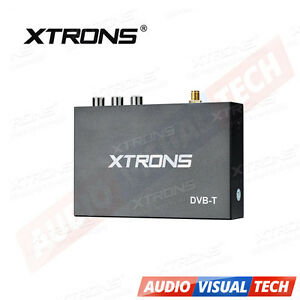 XTRONS Car External DVB-T TV Tuner Receiver Freeview Digital TV Box Antenna