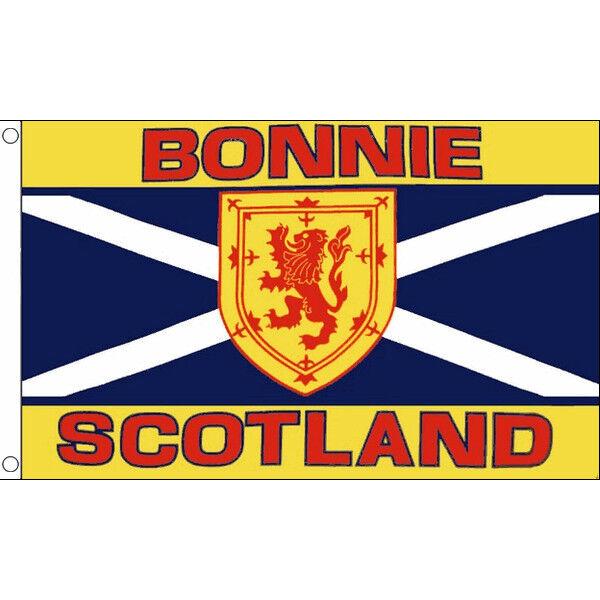 Bonnie Scotland Flag - Larger 5 x 3 FT 5x3