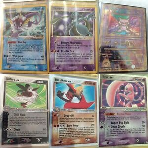 Pokemon Cards (TCG) base set to diamond/platinum sets