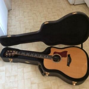 Acoustic Taylor Guitar - Limited edition