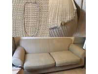 Large 3 Piece Suite £65 Ono (Sofa / Couch / Armchair)