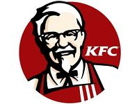 Exciting Opportunities at KFC Bromgroves FULL/PART Time Positions available