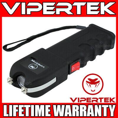 Vipertek Stun Gun Vts-989 - 600bv Heavy Duty Rechargeable Led Flashlight