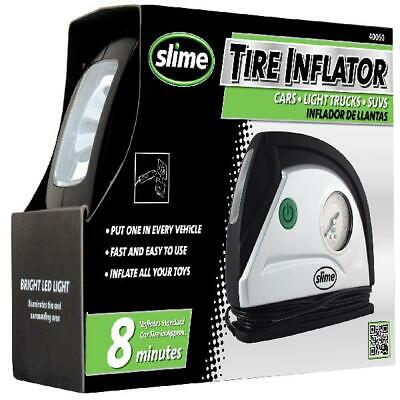 SLIME Inflador de neumáticos portátil a 12V