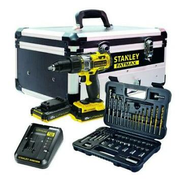 Stanley FMCK625D2F-QW Accuklopboormachine 18V Kit