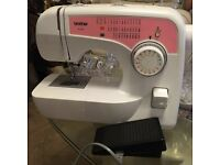 Brother sewing machine like brand new.