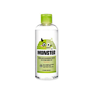 ETUDE-HOUSE-Monster-Micellar-Cleansing-Water-300ml-Face-amp-Eyes-Korea-Cosmetics