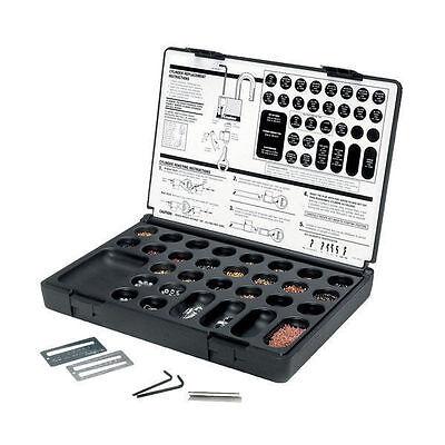 MASTER PADLOCK MASTERKEYING SERVICE KIT. For Lock Rekeying, Pinning, Pin Parts