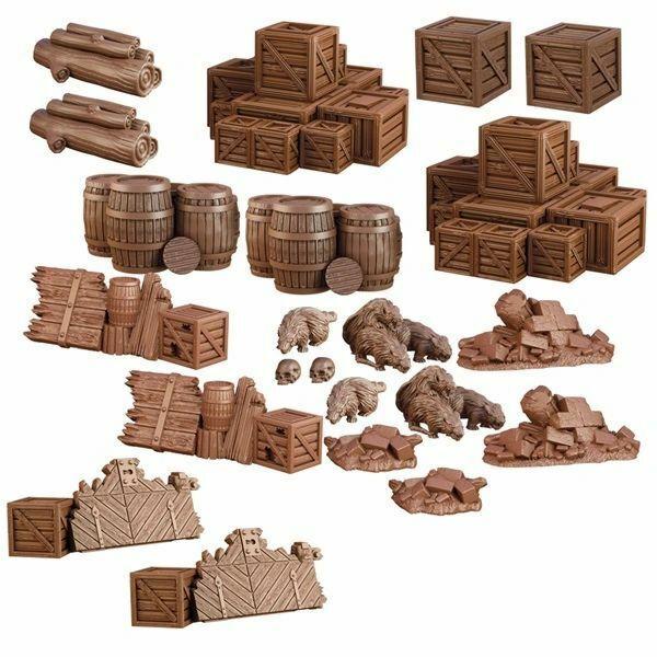 Terrain Crate: Dungeon Debris