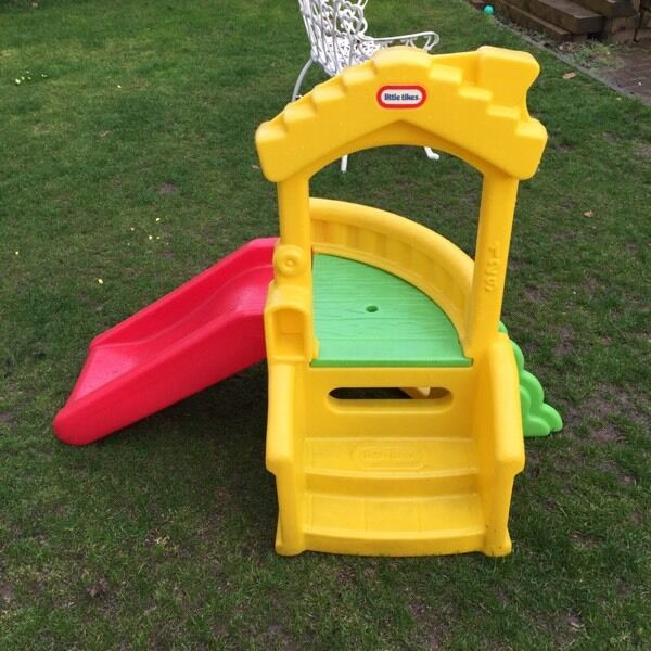 little tikes toddler playhouse slide vgc in walsall. Black Bedroom Furniture Sets. Home Design Ideas
