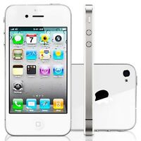Mint condition IPhone 4S - White - 16GB - and cases.