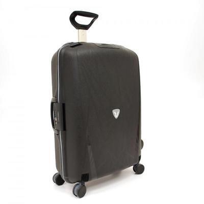Roncato Light Nero medio 4 ruote light misura valigia bagaglio nuovo 500 712