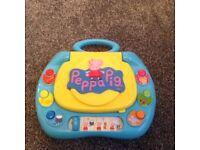 Peppy pig laptop