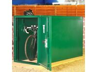Metal bike locker (Asgard 2 bike store)