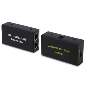 HDMI Extender 3D 1080P 30 Meters Transmission Support Network Ca