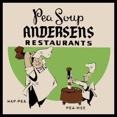 Andersens Pea Soup Restaurants Fridge Magnet