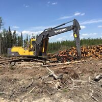 2015 Volvo ec220dl with Southstar 500 (2015)