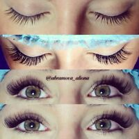 Lashes by Aliona Abramova. 3D/regular. Different sizes.