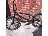 Custom BMX bike good condition we the people salt parts