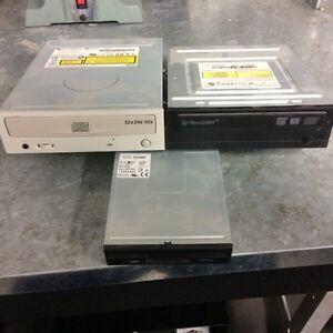 Graveur cd et graveur dvd et lecteur disquette