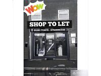 Shop to let*Prime High Street* Suitable for any use* Must view* NewShopFront