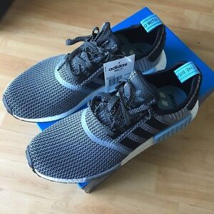 NMD R1 grey and blue
