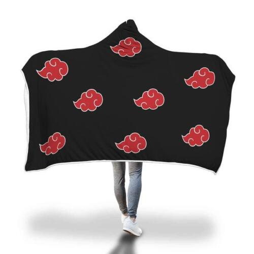 Akatsuki Cloud Hooded Blanket