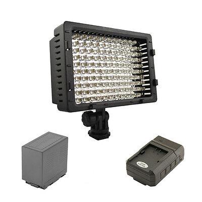 Pro Xb-1 Led Video Light D54 For Panasonic Dvx100a Dvx100...