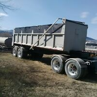 Quad dump trailer for sale