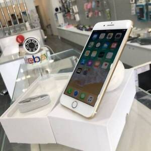 Genuine iPhone 7 128gb gold Apple Warranty Unlocked tax inv Ashmore Gold Coast City Preview