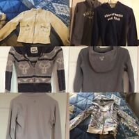 Branded Tops Lot - TNA, lululemon, guess, and more