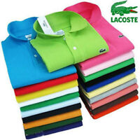 NWT Lacoste Polo Shirts all Colors / Sizes - Store Closeout Sale
