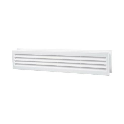 Bathroom Door Air Vent Grille 450mm x 92mm Two Sided ...