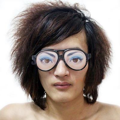 HALLOWEEN PARTY Female Funny Glasses Fake Novelty Gag Prank Eye Ball Joke Toy - Funny Eyeball Glasses