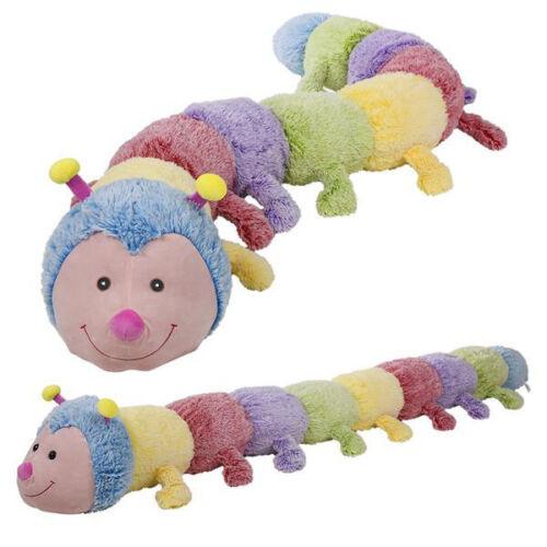 "80"" Jumbo Caterpillar Plush Stuffed Animals Pillow Kids Gifts Soft Toys"