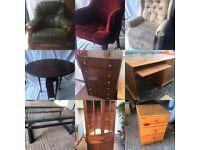 Wanted, house hold furniture, wooden tables