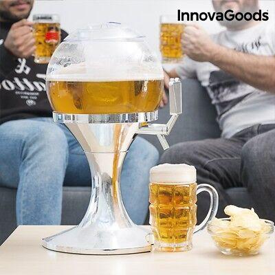 XL Zapfsäule Getränkespender Bier Getränke Spender mit Getränkekühler Zapfhahn (Zapfsäule Getränke Spender)