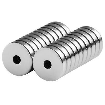 12 X 18 X 18 Inch Neodymium Rare Earth Ringdonut Magnets N42 20 Pack
