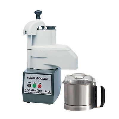 Robot Coupe R301 Ultra Dice Combi Continuous Feed Food Processordicer W Ss Bowl