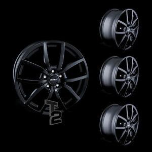 4x 17 Zoll Alufelgen für Opel Vivaro B / Dezent TE dark 7,5x17 ET38 (B-4107001)