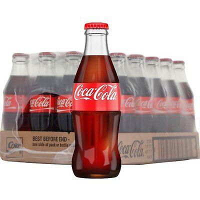 Coca Cola in Glass Bottles Classic Icon 200ml x 24